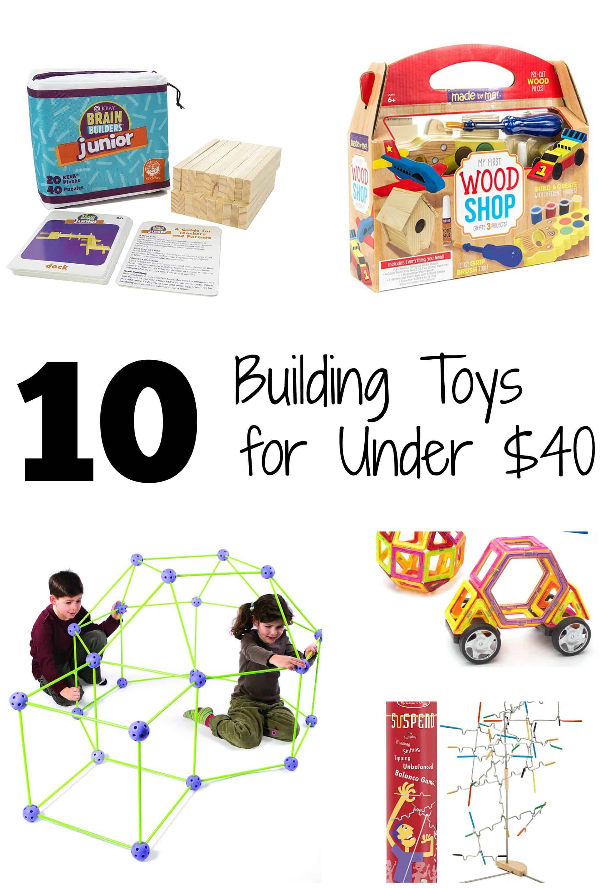Toys Under 10 Dollars : Incredible building toys for under forty dollars