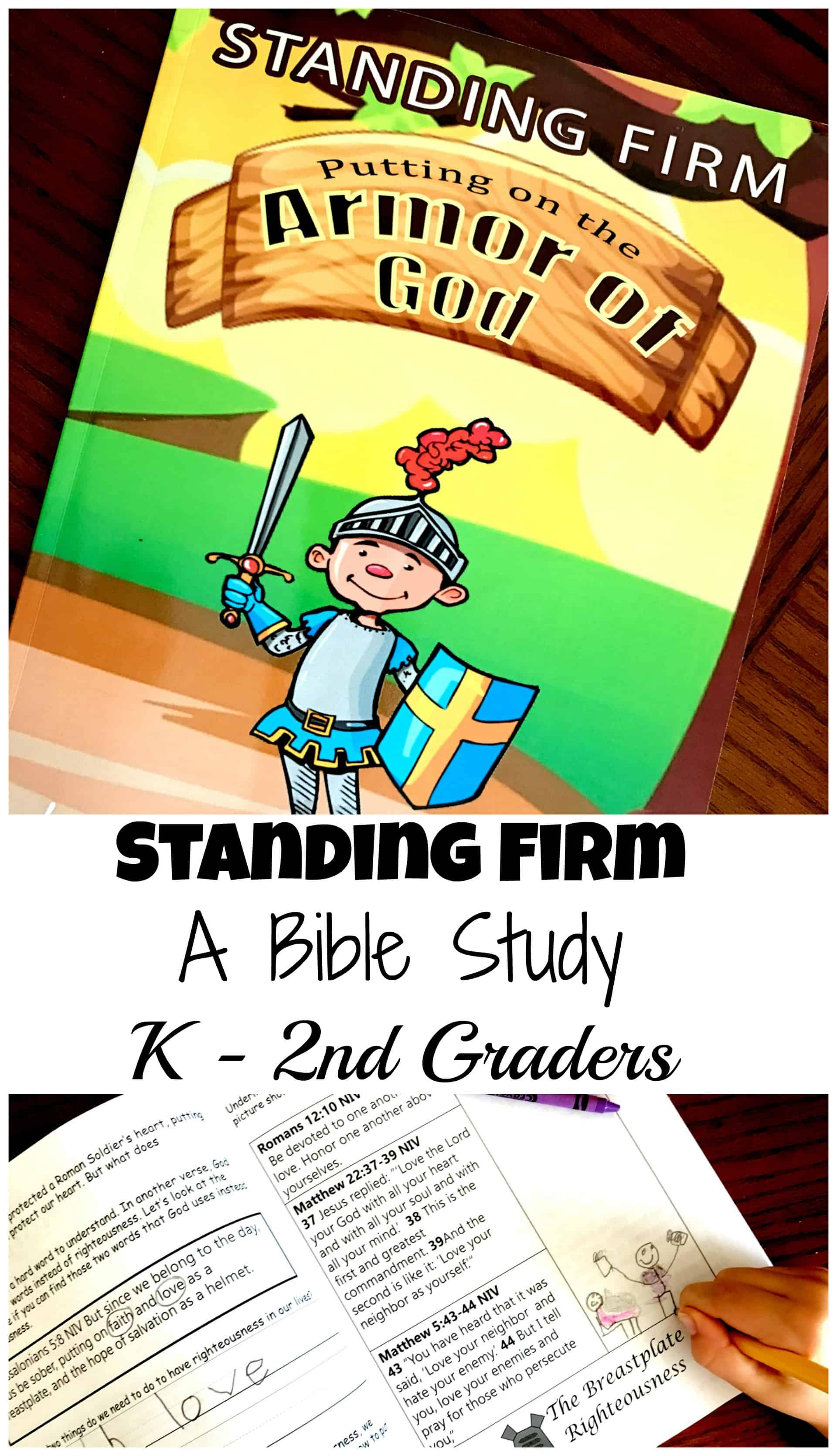 Help your children learn about the Armor of God with this printable Bible Study pack. :: www.thriftyhomeschoolers.com
