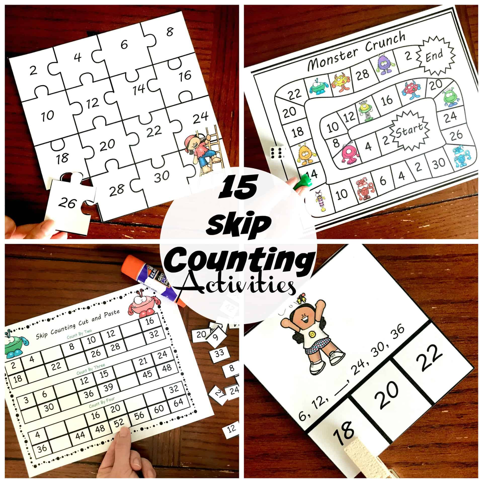 15 Fun And Exciting Skip Counting Activities For Early